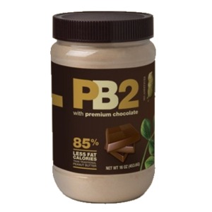 **PB2 POWDER PEANUT BUTTER, 453g (1lb Jar) - Chocolate