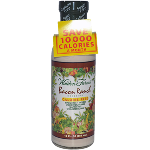 **Walden Farms - BACON RANCH DRESSING- 355mL
